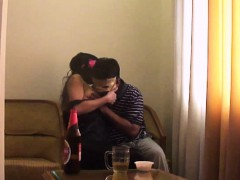 Hot Indian Couple Erotic Kissing And Fucking