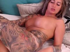 warm-tattooed-busty-amazing-solo-squirt-orgasm