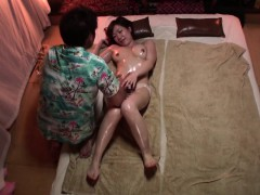 subtitled japanese massage clinic sexy girl oil treatment