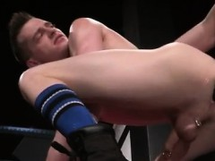 Free Gay Male Anal Fisting Slim Piggy Axel Abysse Bends Over