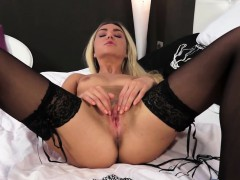 Horny Blonde Goldenshower