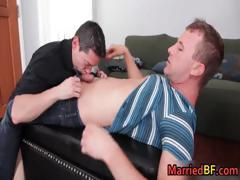 Hunky Married Straight Dude Gets Part1