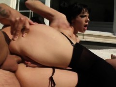 Liz gets anal sex Perfect Gonzo style by Ass Traffic