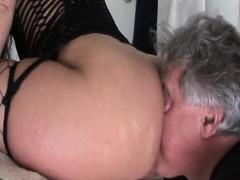 astounding-ebon-femdom-making-white-serf-lick-pussy