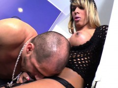 Bigbooty Brazilian Tgirl Pounds Male Ass Bare