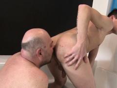 European Bareback Amateur Rimmed By Oldman