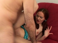Babe Is Getting Her Bawdy Cleft Fucked By Tutor Doggystyle