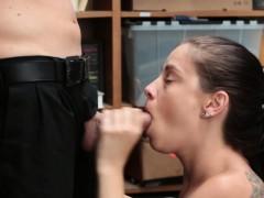 Mouth Cummed Shoplifter