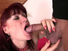Mother in law Toying Before Cock Riding