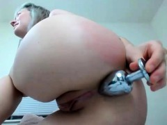 Camgirl Fuck Toys Anal Recoreded Show On Webcam