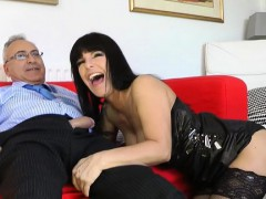Youthful Dilettante Cutie Loves Getting Fucked By An Old Lad