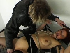 Lesbian Awesome Babes Servitude Action