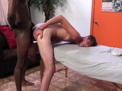 Massaged Black Amateur