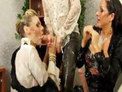 three-glamorous-lesbians-play-bukkake-games