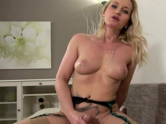 Kathia Nobili Busty Blonde Pleased With Dick