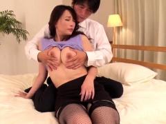 Intense Japanese action with sensual Kotone Kuroki - More