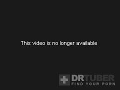 Barefaced blond gal shows off tits gets impaled on boner