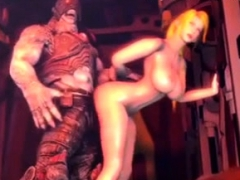 3d Big Boobs Fucked By Monster Cock