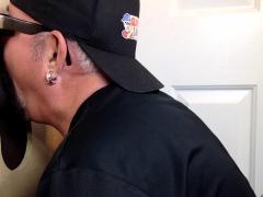 Big Dick Man Cums Twice At Gloryhole