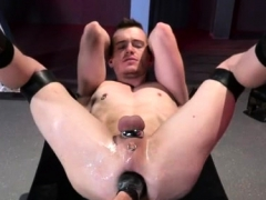Young Gay Boy Fist Axel Abysse Crouches On A Going