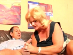 Fat Ass German Mature Gets Pussy Fucked