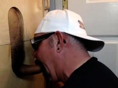 Hot Latino Cums At The Gloryhole