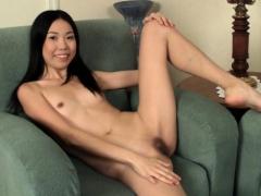 Aziza Zabitova Sexy Asian Teen Girl Masturbating