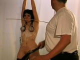 Astounding slavery porn with teen in love with rough xxx