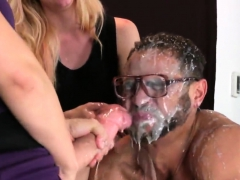 girls ride men booty hole with monster strap-ons and splatter jiz