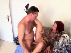 Stranger Seduce German Redhead Milf To Fuck For Little Help