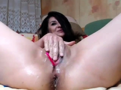 Solo Bitch Hotly Fingering Her Cunt