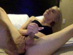 Hot Tranny Webcam Masturbation
