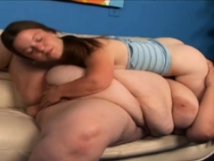 Big Gal Pleasured By A Midget