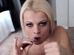 nadia-smokes-an-e-cig-while-also-smoking-a-pole