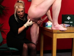 Cfnm Nurse Tugging Cock