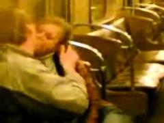 chupada en el metro