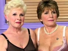 Lesbian Milfs In Sexy Lingerie Posing