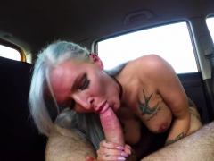 fake driving school sexy goth learner in anal