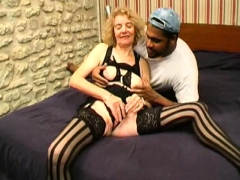 Granny Agnes Analfucked By A Black Cock