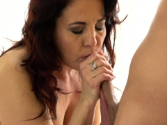 horny old lady spunked