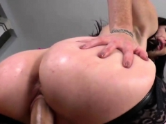 Ravishing Mistress Fucks Slave With Strapon