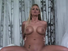 Busty blonde knows how to fuck
