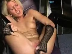Traumgirl Jenny mit Dildo schwarzen Stiefeln by snahbrandy