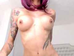 Busty Amateur Tranny Hot Solo