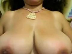 sweet-fat-big-nippled-mature-black-tits-striped-on-webcam