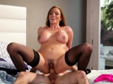 Taboo housewife cheating on her lover