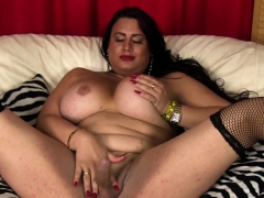 big-curvy-trans-goddess-wanks-cock-solo