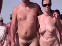 Walkers On Nude Beach
