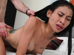 Asian Thai Whore Loves Riding Reverse Cowgirl