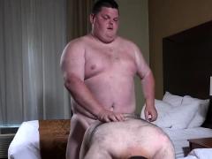 Chubby Daddy Cum Sucker